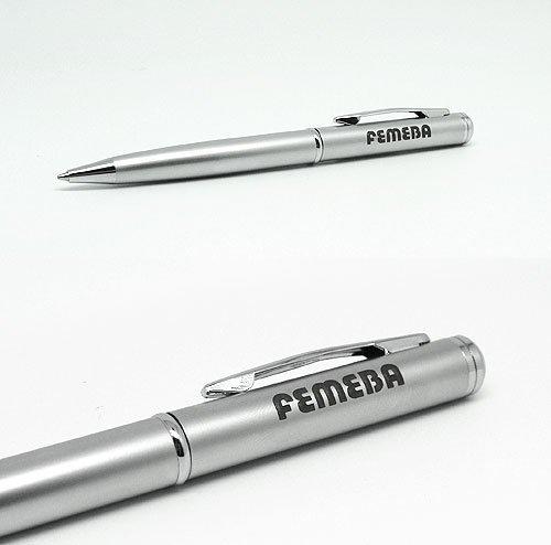 Bolígrafo metal a Láser